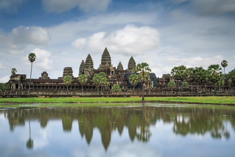 The Travel Ninjas at Angkor Wat in Siem Reap