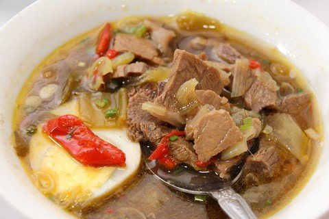 Rawon in Indonesia