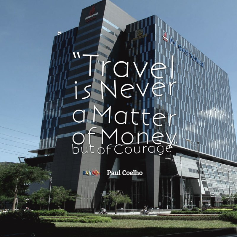 "The Travel Ninjas Travel Quote ""Travel is Never a Matter of Money"""