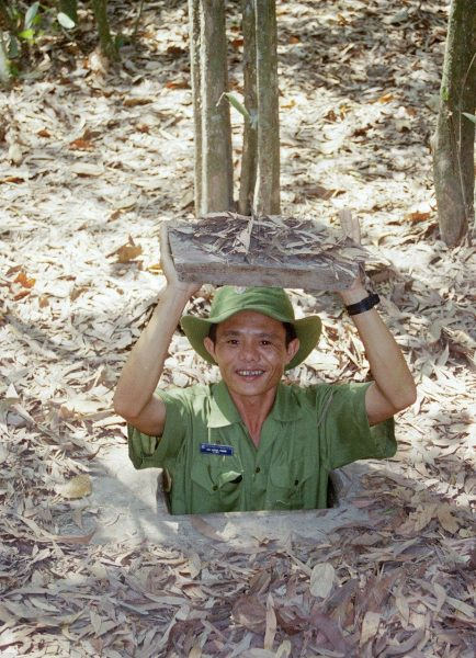 Cu Chi Tunnels - day trips from Saigon