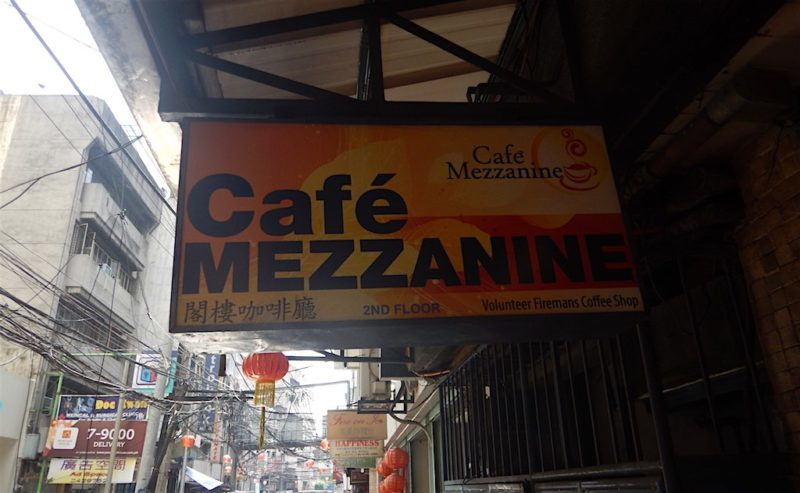 Cafe Mezzanine in Binondo, Manila Philippines
