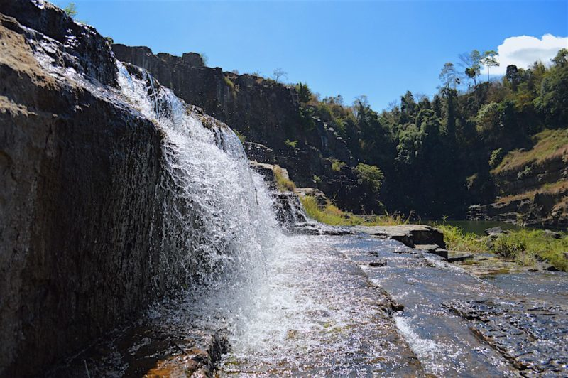 Pongour Waterfall in Da Lat, Viet Nam
