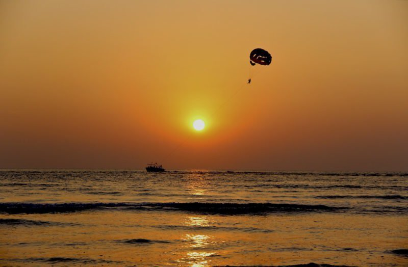 Sunset Parasail for Two on Boracay Island, Philippines