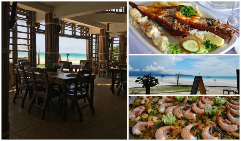 Enjoy Great Views and Fresh Seafood on Boracay Island, Philippines