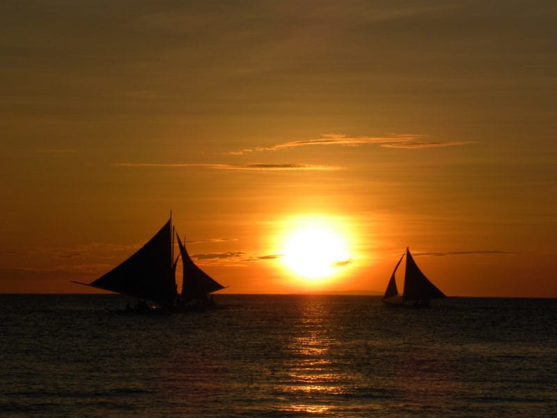 Part of the King and Queen Experience on Boracay Island, Philippines