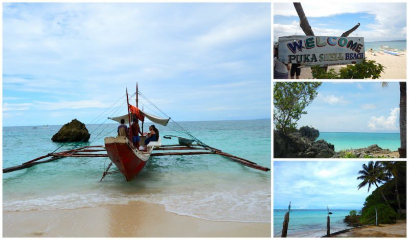 Island Hopping Tour around Boracay Island in the Philippines