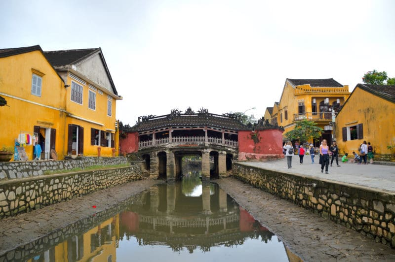 Japanese Bridge in things to do in Hoian, Vietnam