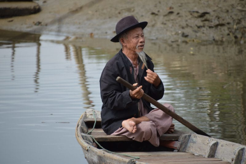 Dashing Sampan Boat Operator - Things to do in Hoian, Vietnam