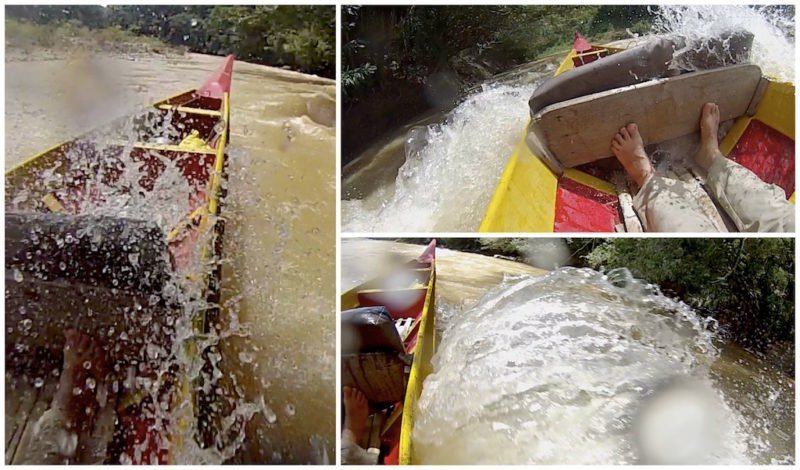 Smaller splashes at Taman Negara near Kuala Lumpur in Malaysia