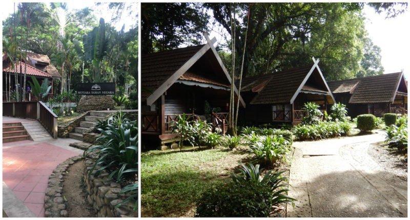 Rustic Resort at Taman Negara near Kuala Lumpur in Malaysia