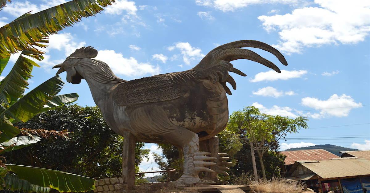 Chicken Village of Dalat-The Biggest Chicken in Vietnam - The Travel Ninjas