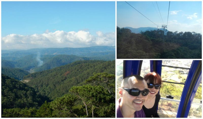 Robin Hill and Our Scenic Sky Ride to Truc Lam Monastery in Da Lat, Vietnam
