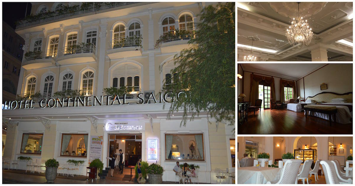Read about our fantastic stay at Hotel Continental Saigon, the oldest and most historic hotel in Vietnam. A