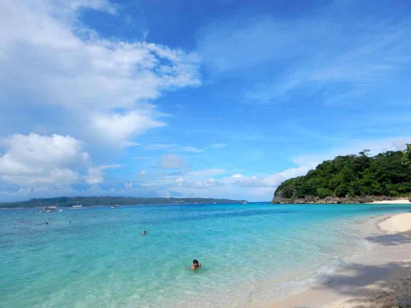 "Station 1 White Beach on Boracay Island, Philippines  Boracay Island in Low Season – Finding Bliss, Beauty, and Elbow Room on the ""World's Best Island"" The Travel Ninjas Boracay Island 10 800x600"