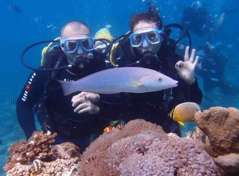 Scuba Diving Boracay Island Station 1 on Boracay Island in the Philippines