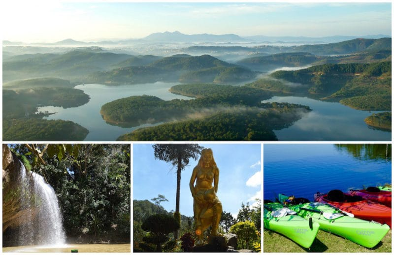 Preview of Dalat Vietnam Itinerary Day 1 for Central Vietnam. Da Lat
