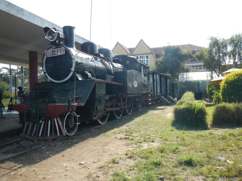 Dalat's Old Train Station offers a Scenic Countryside Ride in Da Lat Vietnam