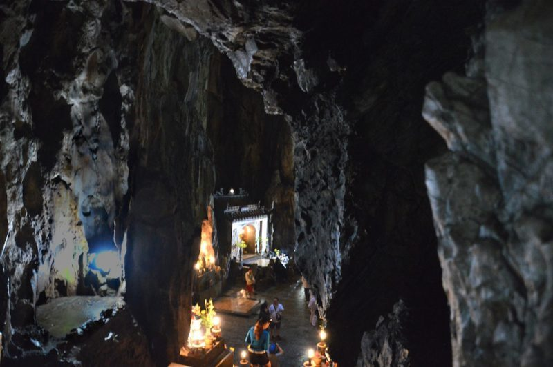 Marble Mountains Vietnam in Danang which is Central Vietnam