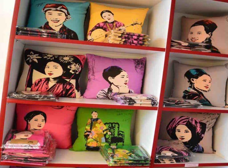 Vintage Vietnamese Shopping in Saigon Ho Chi Minh City Vietnam
