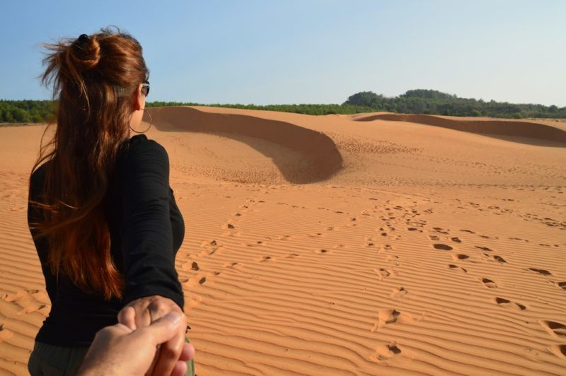 Things to do in Ho Chi Minh. Mui Ne Red Dunes near Ho Chi Minh City Vietnam