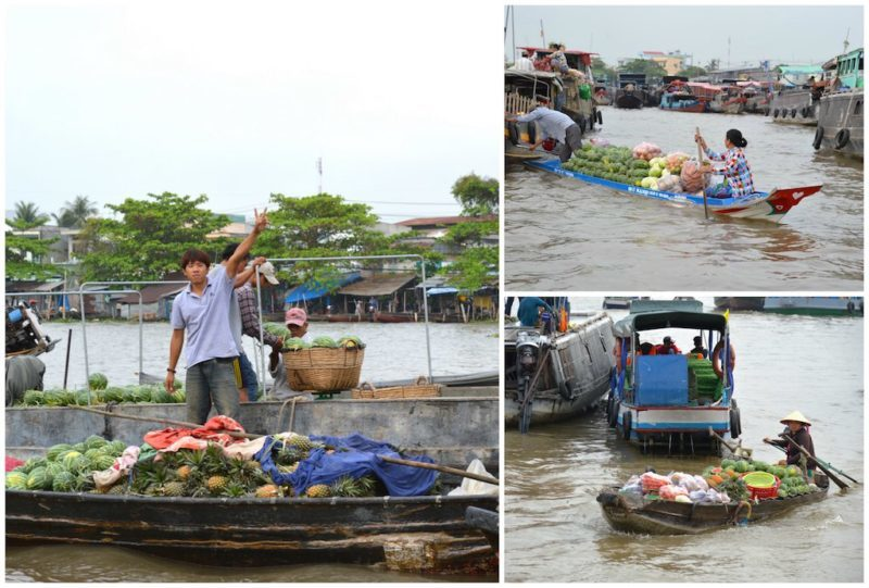 Things to do in Ho Chi Minh. The Mekong Delta near Saigon Vietnam