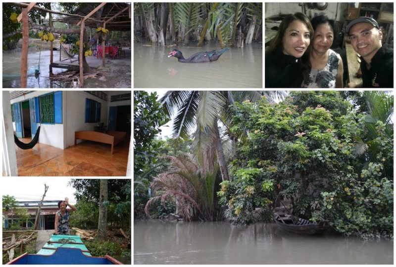 Things to do in Ho Chi Minh. Our stay at a homestay on the Mekong Delta near HCMC Vietnam