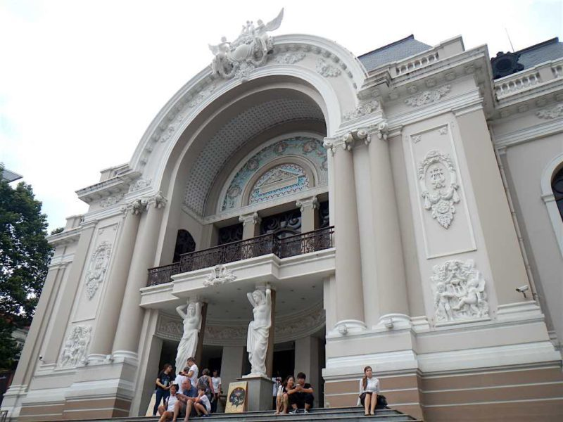 Things to Do in Vietnam - Opera House in Ho Chi Minh in south vietnam Saigon