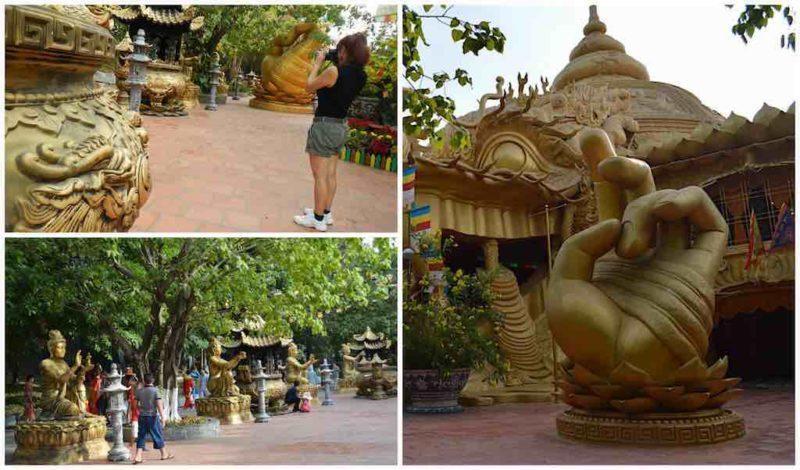 Temple Grounds at Suoi Tien in Ho Chi Minh City Vietnam Saigon