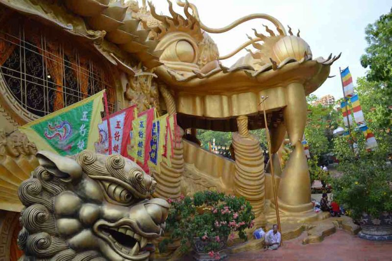 Resting by the Dragon at Suoi Tien in Ho Chi Minh City Vietnam Saigon