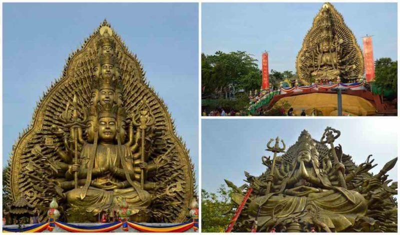 Avalokiteshvara Buddha at Suoi Tien in Ho Chi Minh City Vietnam Saigon