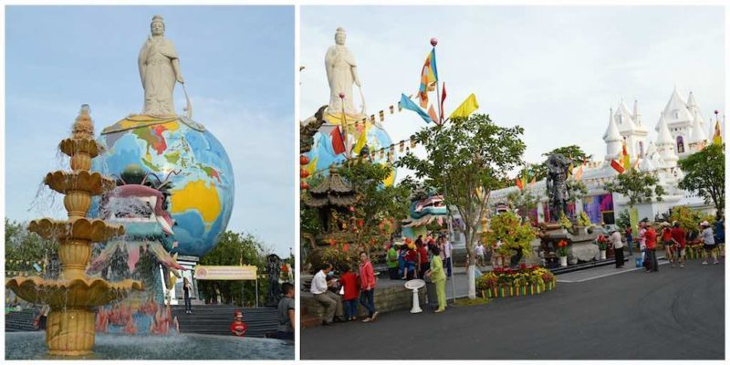 Bodhisattva Buddha made of Pure Granite at Suoi Tien in Ho Chi Minh City Vietnam Saigon