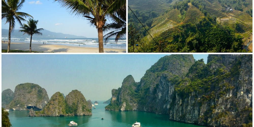 The best Vietnam destinations. Southeast Asia travel