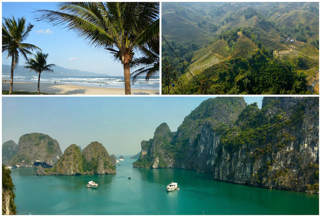 The best Vietnam destinations. Southeast Asia travel