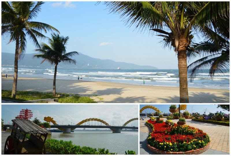 Danang is one of the best Vietnam destinations. Southeast Asia travel. Central Vietnam. Vietnam beaches