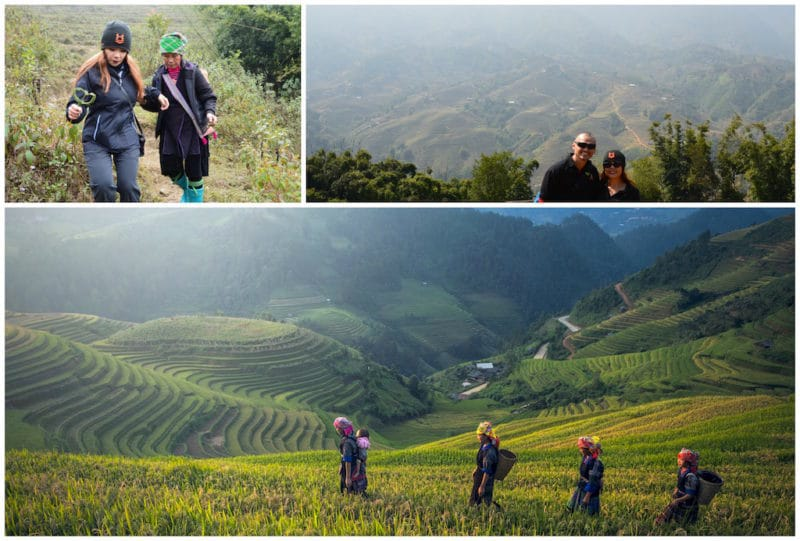 Sapa is one of the best Vietnam destinations. Southeast Asia travel. North Vietnam.