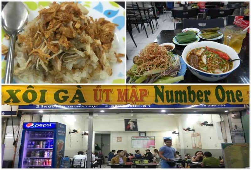 Xoi Ga Number One Best Restaurants in Ho Chi Minh City also known as Saigon in South Vietnam Southeast Asia