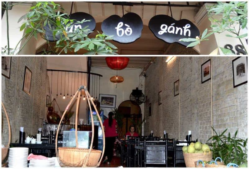 Bun Bo Gahn Best Restaurants in Ho Chi Minh City also known as Saigon in South Vietnam Southeast Asia