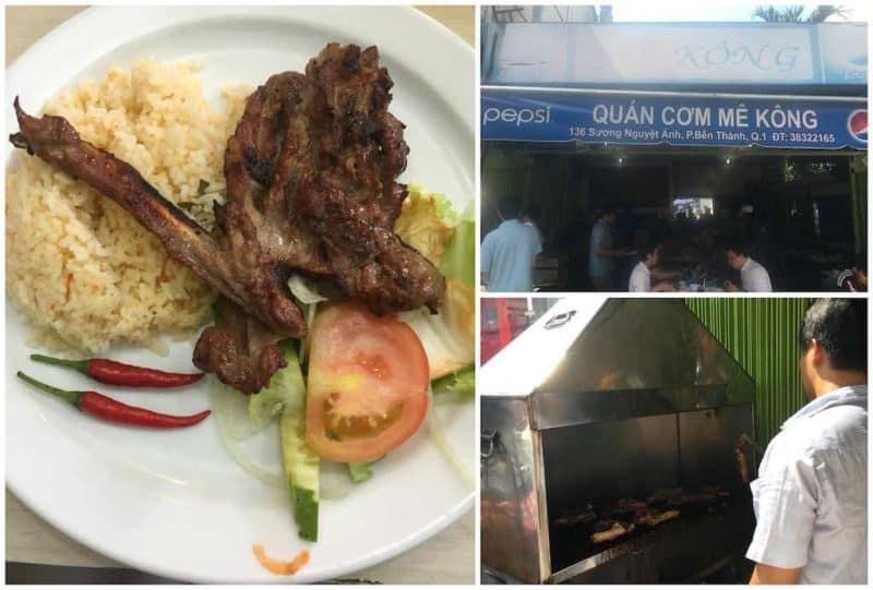 Quan Com Me KongBest Restaurants in Ho Chi Minh City also known as Saigon in South Vietnam Southeast Asia
